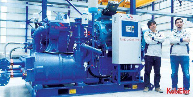 11 Ekim 2018de fabrikasının resmi açılışını yapacak; Türkiyenin ilk ve tek 'Turbo Kompresör üreticisi:  IHI DALGAKIRAN