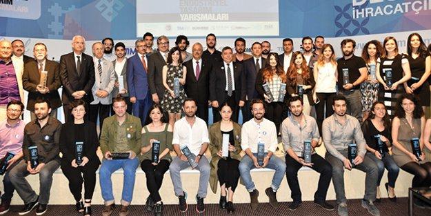 212 bin lira ödüllü endüstriyel tasarım yarışmasında ödüller sahibini buldu