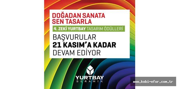 4. Zeki Yurtbay Tasarım Ödülleri için son başvuru 21 Kasım'da