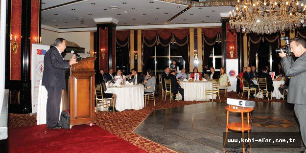 AB Ağlarıyla Güçlenen Girişimcilik Projesi, İstanbul'da tanıtıldı