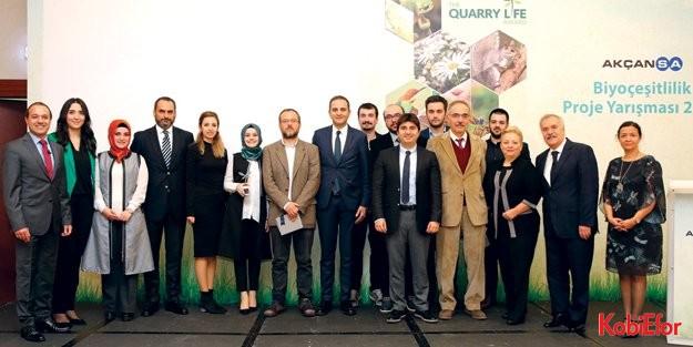 Akçansa'nın Biyoçeşitlilik Proje Yarışması'nın kazananları açıklandı