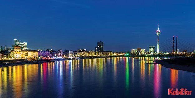 Almanya'nın ekonomi merkezi; Kuzey Ren-Vestfalya (Nordrhein-Westfalen-NRW)
