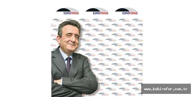 Alper Kanca EUROFORGE'nin Başkanı oldu