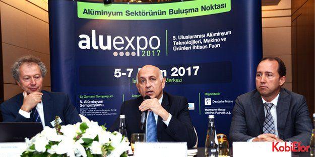 Alüminyum sektörü büyük buluşmaya hazır: ALUEXPO 2017; 5 Ekim tarihinde kapılarını açıyor: