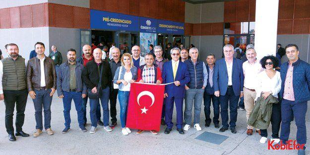 Antalya OSB Brezilya'dan döndü