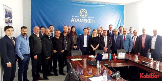 Antalya OSB Kazakistan'ta 60 firma ile görüştü