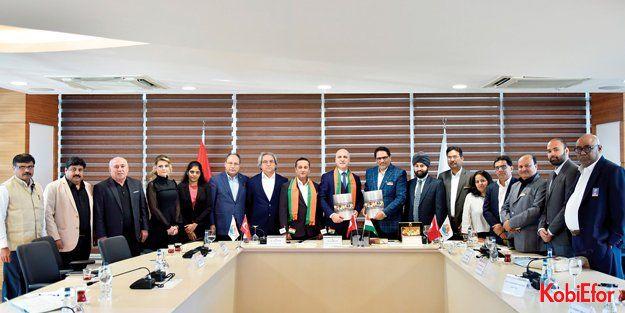 Antalya OSB'nin Hindistan açılımı