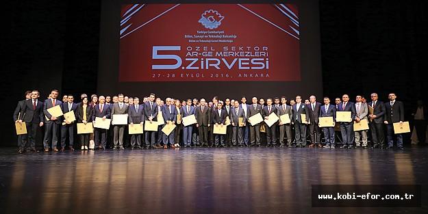 Ar-Ge'nin şampiyonları ödüllendirildi