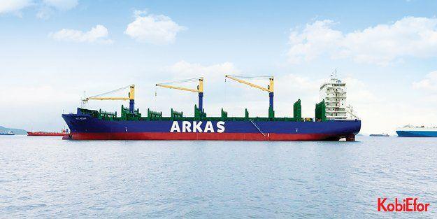 Arkas filosu 51 konteynır gemisine ulaştı