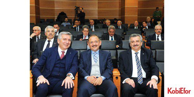 """'Asya ve Avrupa'da yeni nesil iki OSB kurulmalı"""""""