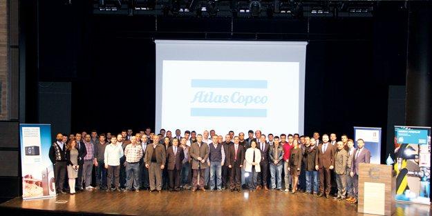 Atlas Copco Çerkezköy'de iş ortakları ile biraraya geldi