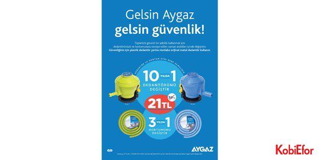 Aygaz ve Mogaz'dan kampanya