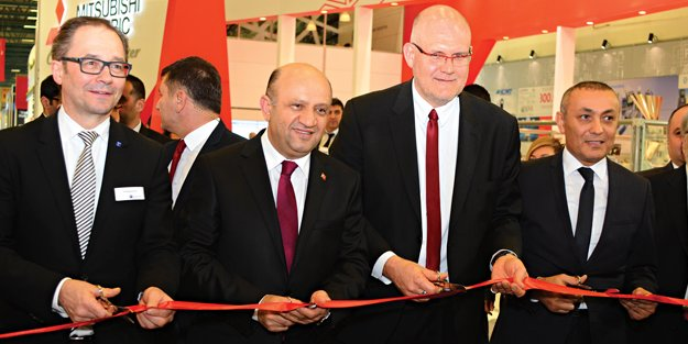 Bakan Fikri Işık, WIN'in açılışını gerçekleştirdi