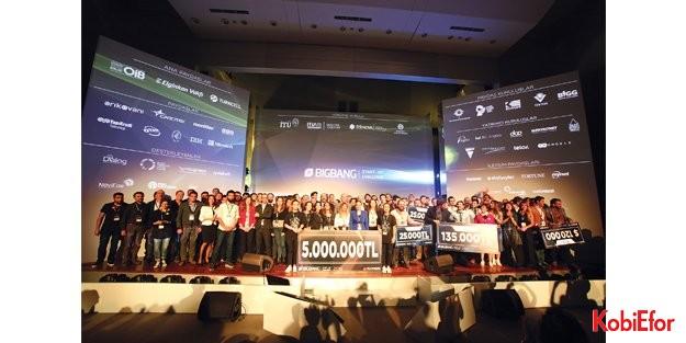 Big Bang 2016'da girişimcilere bir gecede 5 milyon TL'lik destek