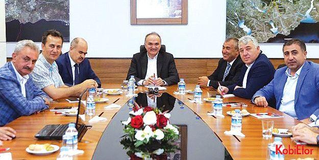 Bilim, Sanayi ve Teknoloji Bakanı Dr. Faruk Özlü, Gebze Güzeller OSB'deydi