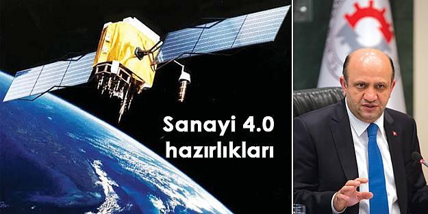 Bilim, Sanayi ve Teknoloji Bakanı Fikri Işık açıkladı: Sanayi 4.0 hazırlıkları