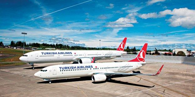 Boeing'den Türk Hava Yolları'na uçak teslimatı