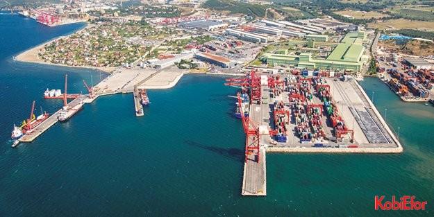 Borusan Limanı artık 'yeşil/eko limanı' sertifikalı