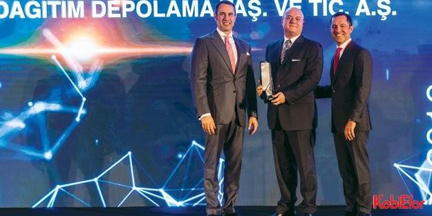 Borusan Lojistik 'inovasyon' ödülünü kazandı