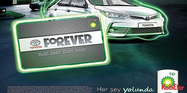 BP ve Toyota Forever, işbirliği 3. yılında