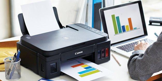Canon'un tasarruf rekortmeni G Serisi yazıcıları satışta