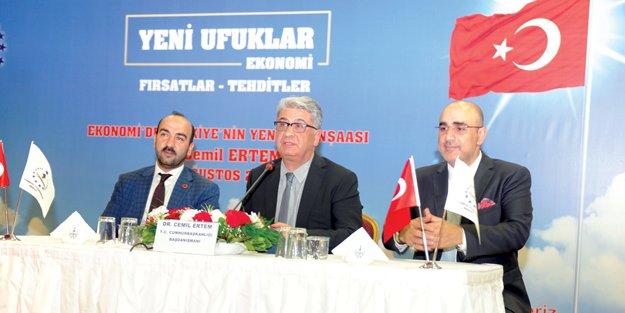 Cemil Ertem: Ekonomik reformlar için fırsat dönemi