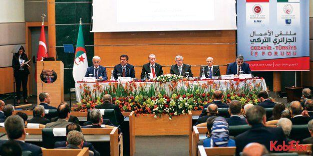 Cezayir Türkiye ticaret hacmi yeterli değil
