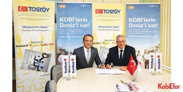 DenizBank ; TOSYÖV Türkiye'nin 7 bölgesindeki KOBİ'ler için tekrar el ele verdi