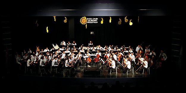 Doğuş Çocuk Senfoni Orkestrası'na JCI'dan ödül