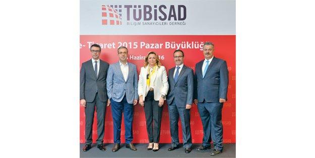 E-ticaret hacmi 24.7 milyar TL