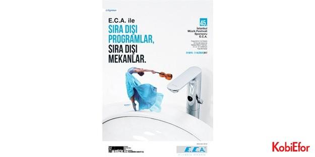 "E.C.A. sponsorluğunda 'sıra dışı"" festival deneyimi"