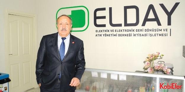 """ELDAY Genel Müdürü Muharrem Yamaç: 'Vizyon, hedef ve öngörü, başarıyı getirir"""""""