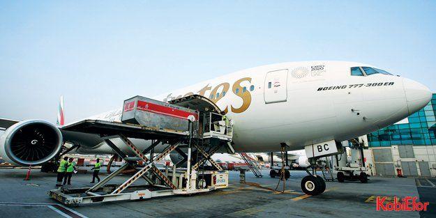 Emirates SkyCargo, Brezilya'ya aşı taşıyan charter uçuşları gerçekleştirdi