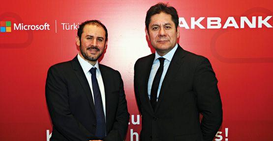Akbank ve Microsoft Türkiye İşbirliği