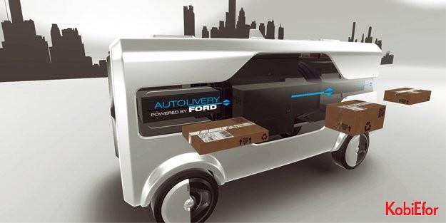 Ford, geleceğin teknolojilerini tanıttı