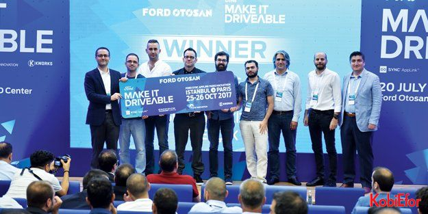 """'Ford Sync AppLink Paris Hackathon"""" finalinde yarışacak Türk girişimciler belirlendi"""