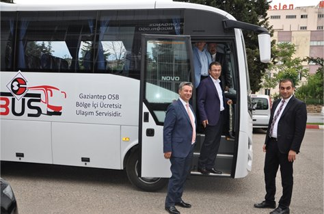 "Gaziantep OSB'den 'OSBÜS""!"
