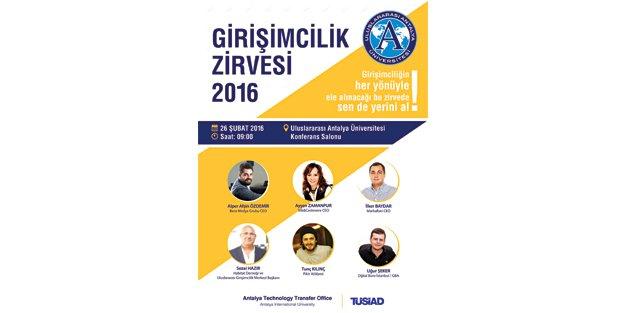 Girişimciliğin nabzı Antalya'da atacak