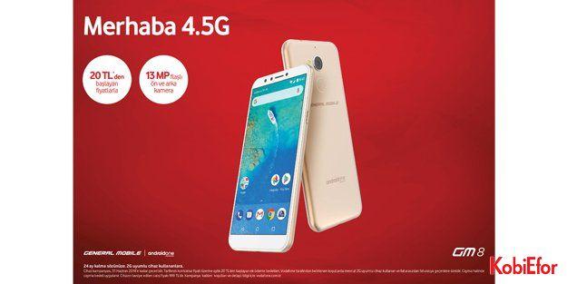 GM 8, Vodafone'da