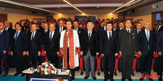 GTÜ Akademik Yıl Açılışı'nda Başbakan Yardımcısı Fikri Işık konuştu
