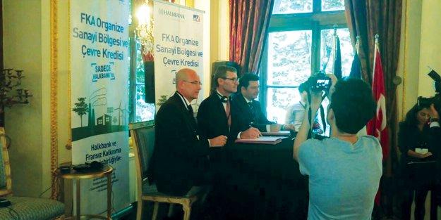 Halkbank ve FKA'dan Çevreye ve OSB'ye 100 milyon euro yeni kaynak