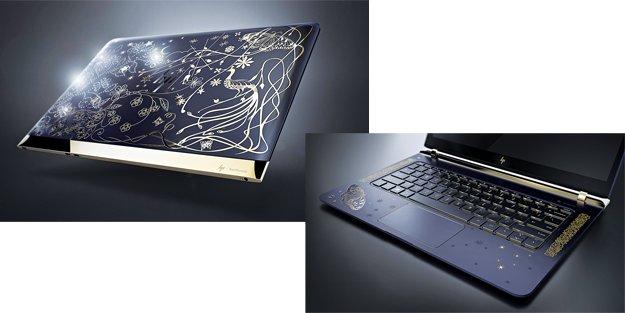 HP'den 18 karat elmas ve altından üretilmiş lüks PC