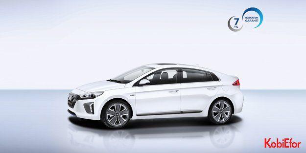 Hyundai IONIQ de 7 yıl garanti ile koruma altında