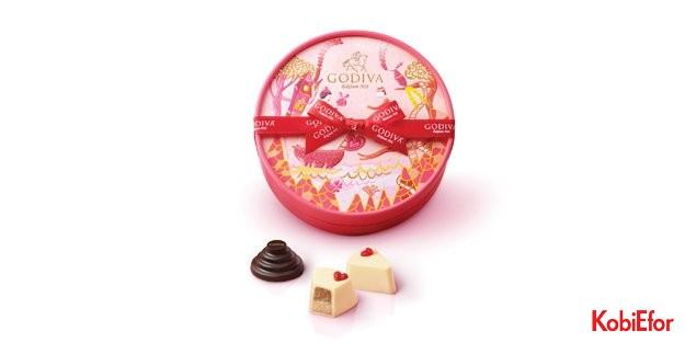 İkonik kek ve pastalar, Godiva ile leziz çikolatalara dönüştü