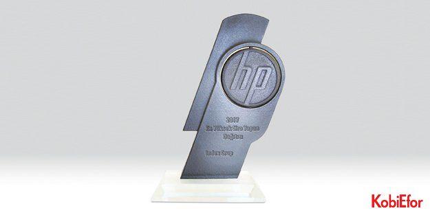 """Index Grup'a HP'den '2017'nin En Çok Ciro Yapan Dağıtıcısı"""" ödülü"""