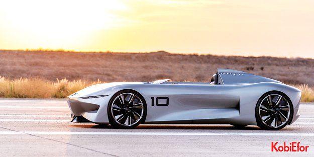 INFINITI'den, elektrikli ve tek koltuklu yeni konsept modeli Prototype 10