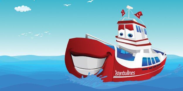 İstanbullines, 'ferrydun' ile gülümsetiyor