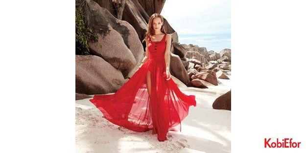 Kırmızının etkisi plaj modasına yön veriyor