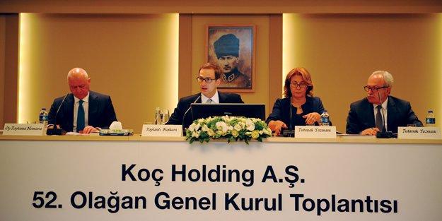 """'Koç Holding'i global bir dünya şirketine taşıyacağız"""""""