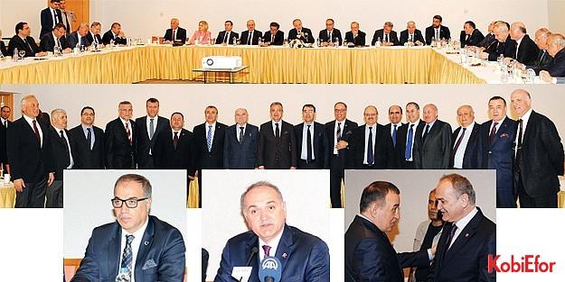 """Kocaeli'de OSB Başkanları ile bir araya gelen Bakan Faruk Özlü; 'Ekonominin lokomotifi sanayi, sanayinin lokomotifi Kocaeli"""""""